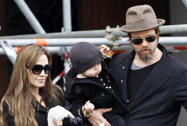 Тайная свадьба Анджелина Джоли с Брэдом Питтом