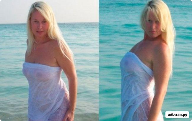 Елена Кондулайнен разделась на Мальдивах из-за Волочковой