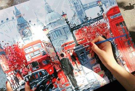 Хотите почувствовать себя настоящим художником? Покупайте картины по номерам!