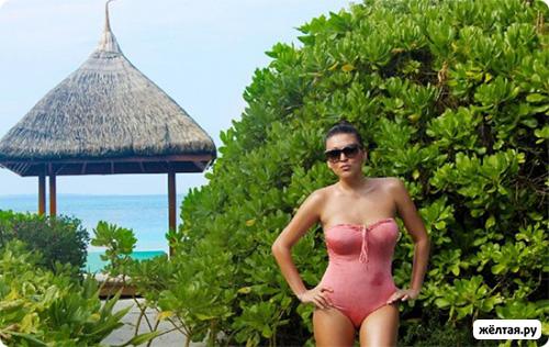 Ирина Дубцова разделась на Мальдивах