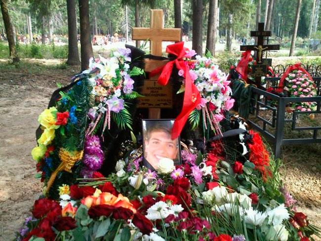 Похороны Ивана Агафонова