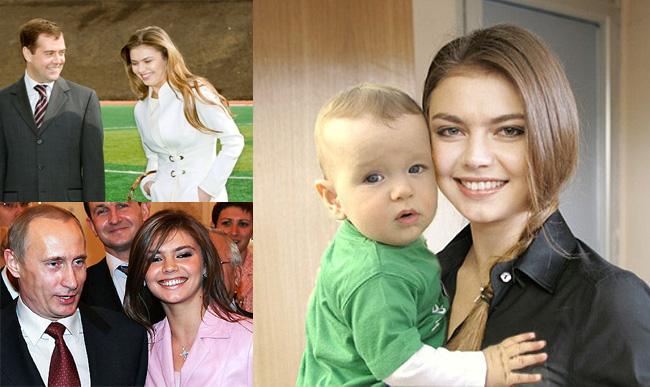 Алина Кабаева родила Владимиру Путину сына