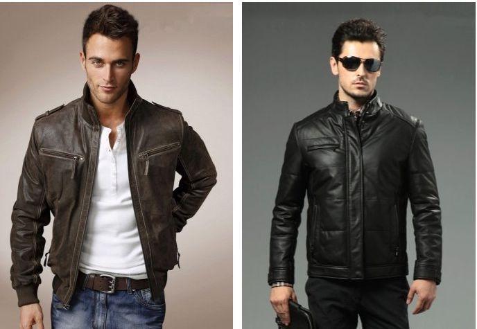 Где заказать кожаную куртку для мужчины?
