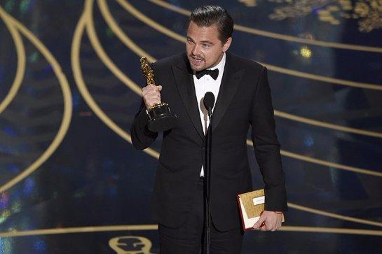 Леонардо Ди Каприо стал обладателем долгожданного «Оскара»