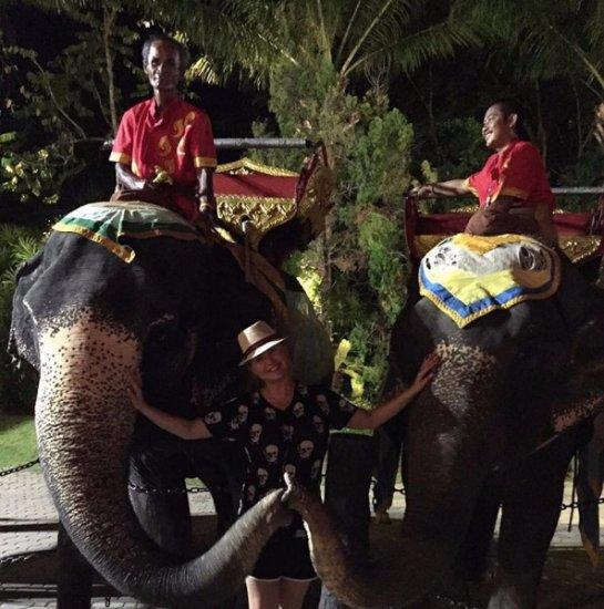 Анна Семенович показала фотографии с отдыха в Таиланде