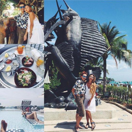 Регина Тодоренко отдохнула в Таиланде вместе с мамой
