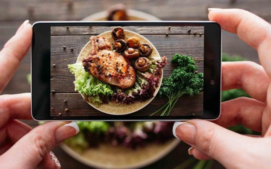 Фотосъёмка при приготовлении пищи и производстве продуктов питания