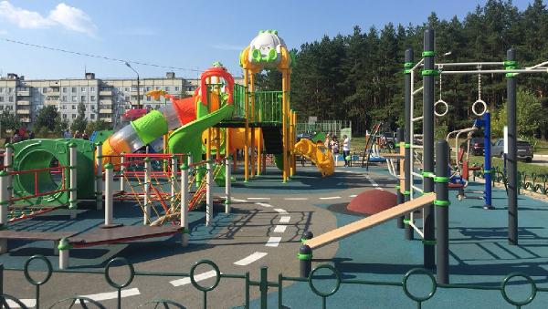Спортивные и детские площадки от производителя