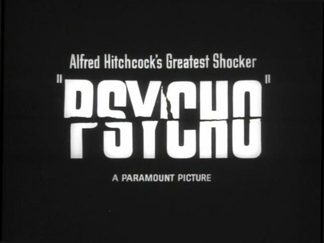 """самый страшный психологический фильм ужасов - """"Психо""""."""