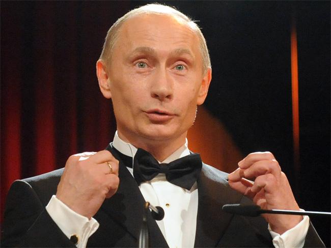 Владимир путин продемонстрировал