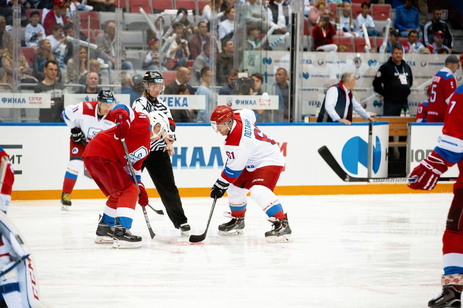 ХК «СКА» и олимпийская сборная России вновь будут бороться за победу в Сочи
