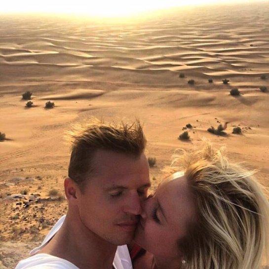 Ольга Бузова опубликовала красивый снимок с любимым мужем