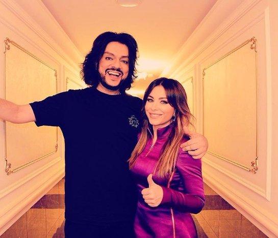 Ани Лорак посетила концерт своего друга Филиппа Киркорова