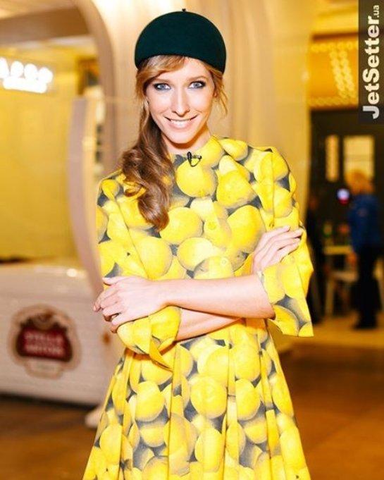 Катя Осадчая в «фруктовом» платье удивила фанатов