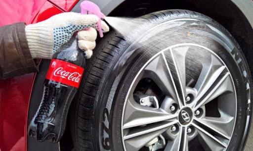 Как сделать чернитель резины автомобиля своими руками