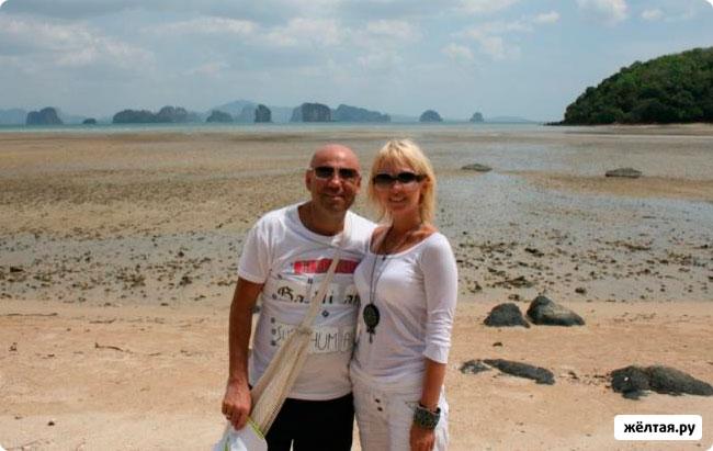 Иосиф Пригожин и Валерия фото с отдыха на острове Яо Ной