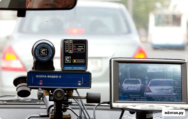Камеры видеофиксации в Москве