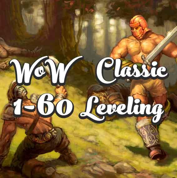 Выгодные условия покупки Power leveling 1-60 Boost WoW Classic Carry